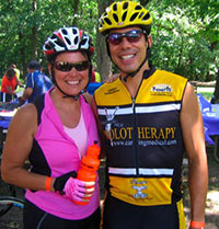 Chicago Prolotherapy Doctor Ross Hauser and Wife Marion